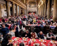 Община Святого Эгидия встретила Рождество в обществе «последних»