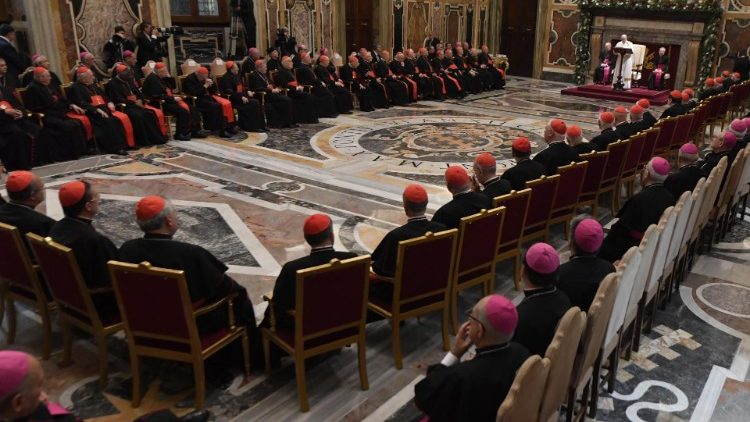 Папа Франциск в предрождественской речи к Римской Курии: не бойтесь перемен