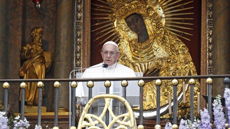 Папа Франциск о значении мариологии