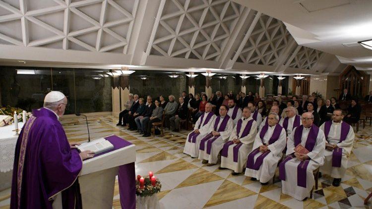 Папа Франциск на Мессе в Доме Святой Марфы размышлял о природе безвозмездного дара