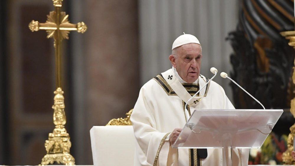 Проповедь Папы Франциска на святой Мессе Навечерия Рождества. 24 декабря 2019 г., собор Святого Петра