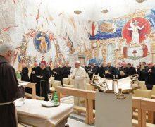 Начался цикл адвентовских духовных размышлений для Папы и сотрудников Римской Курии