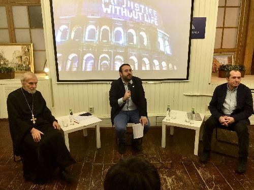 «Насилие лишь умножает насилие»: дискуссию о смертной казни провели в Москве «Друзья Общины Святого Эгидия»