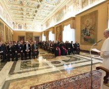 Папа Франциск: социальное учение Церкви должно выражаться в конкретных проектах