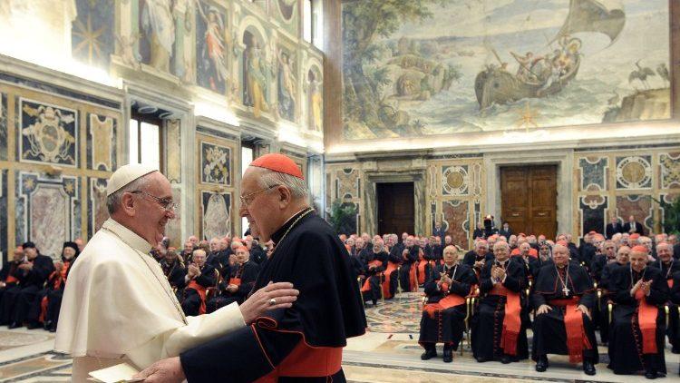 Папа Франциск произвел изменения в Коллегии Кардиналов
