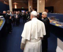 Папа Франциск посетил выставку «100 вертепов в Ватикане»