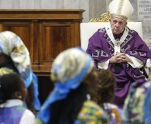 В первый день Адвента Папа Франциск отслужил Мессу в заирской версии римского обряда