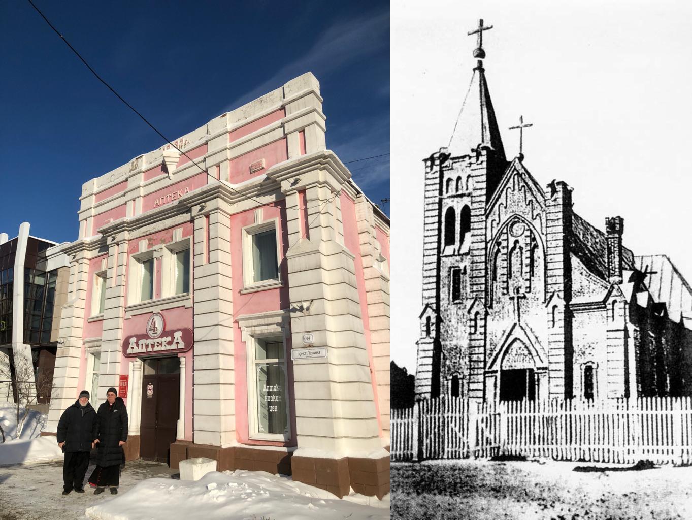 Историческое здание храма в центре Барнаула передано местной католической общине
