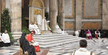 Папа Франциск возглавил заключительное богослужение Недели молитв о единстве христиан