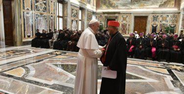 Папа Франциск встретился с общиной Папской эфиопской коллегии