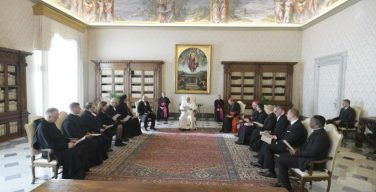 Папа Франциск принял делегацию финских лютеран