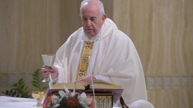 На Мессе в Доме Святой Марфы Папа Франциск озвучил секрет истинного мира