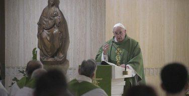 На Мессе в Доме Святой Марфы Папа Франциск предостерег от «пастырской шизофрении»