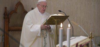 Папа Франциск на Мессе в Доме Святой Марфы говорил о первостепенной важности послушания