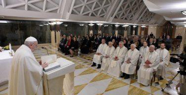 Папа Франциск на Мессе в Доме Святой Марфы говорил о разрушительных последствиях зависти