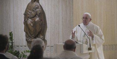 На Мессе в Доме Святой Марфы Папа Франциск говорил о христианской радости и предостерег от формализма в религиозной жизни