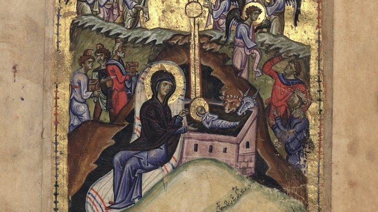 Папа поздравил с Рождеством православных и католиков Восточных Церквей