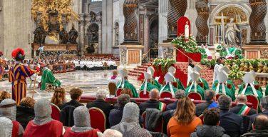 Папа Франциск возглавил Мессу Первого Воскресенья Слова Божия
