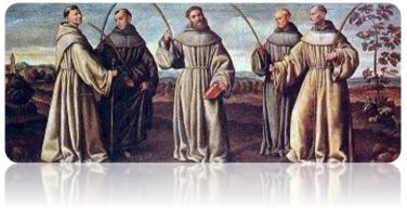 16 января 2020 г. – 800-летие подвига Первомучеников Францисканского ордена
