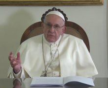 Молитвенные намерения Папы Франциска на январь