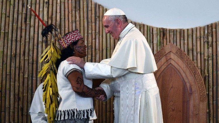 Querida Amazonia: увидело свет постсинодальное Апостольское увещание Папы Франциска