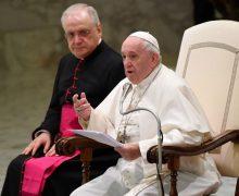 На общей аудиенции 5 февраля Папа Франциск размышлял о нищете в духе как о предпосылке свободы