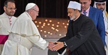 Папа Франциск обратился с посланием по случаю первой годовщины подписанной в Абу-Даби Декларации о братстве