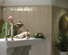 Папа Франциск на Мессе в Доме Святой Марфы: Бог плачет, если мы отдаляемся от Него