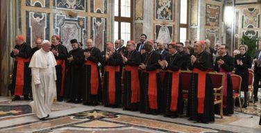 Папа Франциск к сотрудникам Конгрегации католического образования: образование – это искусство роста