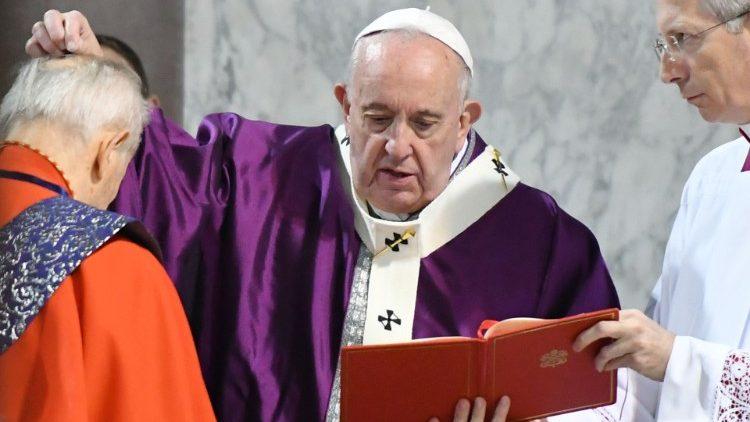 Проповедь Папы Франциска на святой Мессе Пепельной среды. 26 февраля 2020 г., базилика Святой Сабины на Авентинском холме