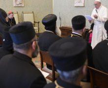Папа встретился с духовенством Древних Восточных Церквей