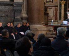 Состоялась Покаянная литургия для священников Римской Епархии