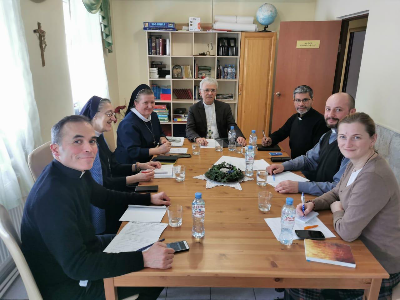 В Пастырском центре «Вифлеем» близ Новосибирска прошло очередное заседание Комиссии по делам семьи при Конференции католических епископов России