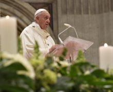 Проповедь Папы Франциска на Мессе 24-го Дня Посвященной Богу Жизни. 1 февраля 2020 г., собор Святого Петра