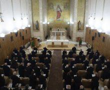 Духовные упражнения в Аричче: не подменять веру знанием