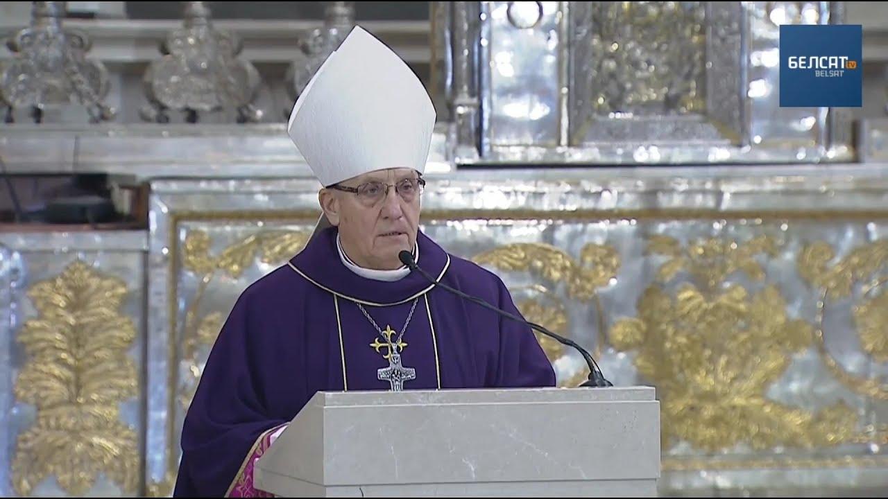 Предстоятель белорусских католиков призвал молиться о защите от коронавируса
