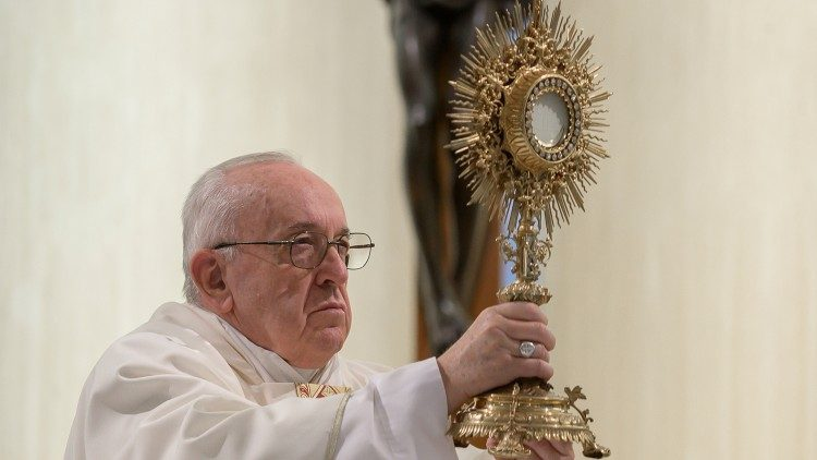 Папа Франциск охарактеризовал святого Иосифа как человека, проникшего в Божию тайну