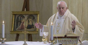 Папа Франциск отслужил в часовне Дома Святой Марфы Мессу торжества Благовещения