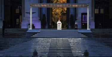 Папа Франциск возглавил всемирный молебен: «Что же вы так боязливы? Неужели у вас нет веры?»