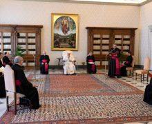 На общей аудиенции 1 апреля Папа Франциск прокомментировал блаженство чистых сердцем