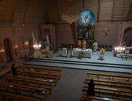 Месса Святой Пасхальной Ночи в Кафедральном соборе Новосибирска-2020: ликование праздника в условиях режима самоизоляции (+ФОТО)