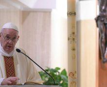 На Мессе в Доме Святой Марфы Папа Франциск указал, что Дух Святой ведет христианина в неизведанное