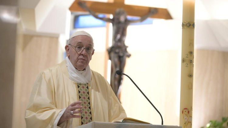 На Мессе в Доме Святой Марфы Папа Франциск призвал пастырей быть близкими народу