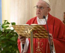 Папа Франциск на Мессе праздника Святого Евангелиста Марка помолился о тех, кто провожает в последний путь жертв пандемии COVID-19