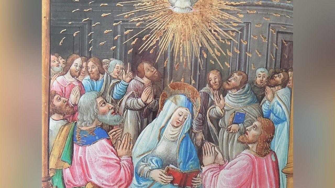 24 мая (понедельник по Пятидесятнице). Пресвятая Дева Мария Матерь Церкви. Память