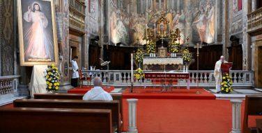 Проповедь Папы Франциска на Святой Мессе воскресенья Октавы Пасхи (праздник Божия Милосердия). 19 апреля 2020 г., Рим, храм Санто-Спирито-ин-Сассия