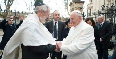 Папа Франциск и Главный раввин Рима обменялись поздравлениями с Пасхой