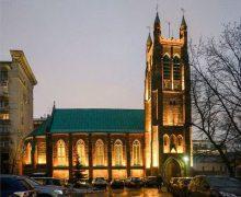 В англиканском соборе Москвы прошло богослужение в память о 75-й годовщине Победы