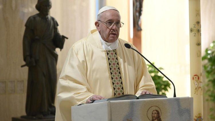 На Мессе в Доме Святой Марфы Папа Франциск размышлял о том, что может препятствовать нашей близости со Христом