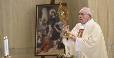 На Мессе в Доме Святой Марфы Папа Франциск призвал не поддаваться искушениям лукавого